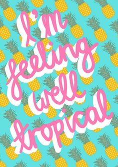 vintage-x-diary:  Tropical summer on We Heart It.
