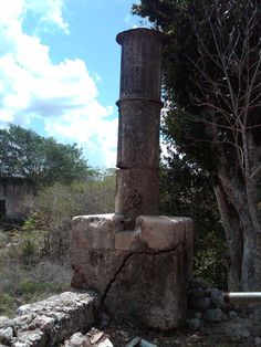 Tacchebila Hacienda chimney