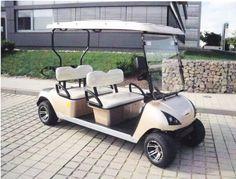 Beckers Golf Cart Handel -   - Ligier - Yamaha - WSM Mitsubishi - E-Z-GO - Club Car - WSM Mitsubishi MT1400 NEUFAHRZEUG Viersitzer Golf Cart / Golfcar