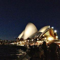 Opera House from Opera Bar - Sydney