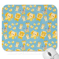 Make your desk your unique space with a new Cute mouse pad from Zazzle! Cute Mouse Pad, Safari Animals, Mousepad, Snoopy, Make It Yourself, Chair, Design, Stool, Design Comics