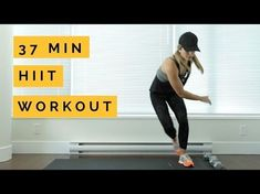 37 min At Home HIIT Workout - YouTube