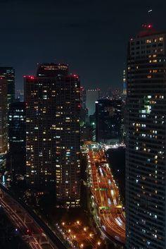 "tokyotuisku: ""Tokyo night from WTC observatory. #01 ( Hamamatsucho, Tokyo ) """