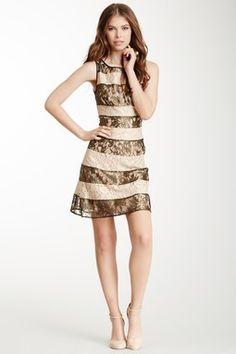 HauteLook | Jessica Simpson Dresses: Jessica Simpson Two-Tone Lace Dress