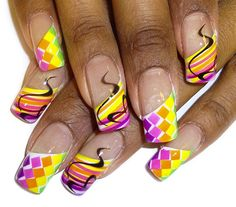colors by Pilar from Nail Art Gallery
