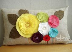 Sukan: Multi-colored flowers