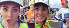 As If Running a Marathon Wasn't Enough, This Girl Took Selfies With 20 Guys Along the Way