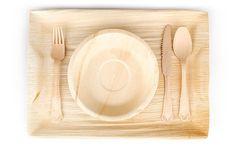 Leafware Disposables Palm Leaf Plates