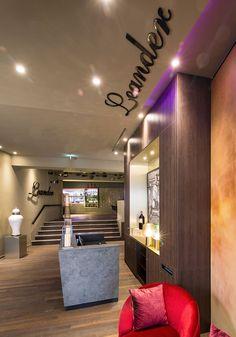 Foyer_Reception GOP Bonn Leander Restaurant Design by Kitzig Interior Design