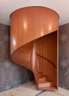 Curved Wood, Stairs, Google, Stairway, Staircases, Ladders