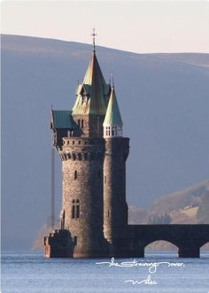 The straining tower, Wales