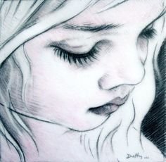 drawings of faces art | ... Duffy Art - Drawing, Black and White
