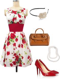 """Floral"" by jpschwartz on Polyvore"