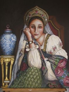 Russian Girl by Christine Whipper
