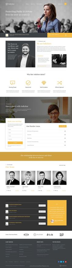 Solicitor is marvelous bootstrap HTML5 Template for #Law Business, Lawyers, #Legal websites or any Corporate Business #Websites. Download Now!