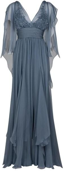 Interesting dress - very late 70s to me. Needs a different color though... like deep navy or something