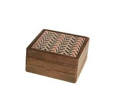 A decorative paulownia wood box with an Aztec style printed tile on the lid. Small and Medium Small: 13 x 13 x Medium: 17 x 17 x Decorative Wooden Boxes, Aztec Style, Wood Boxes, Decorative Accessories, Tile, Printed, Medium, Antiques, Stuff To Buy