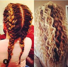 Braid Perm Beauty Hair Permed Hairstyles Hair Styles