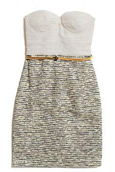 Alice + Olivia Elena Bustier Dress.