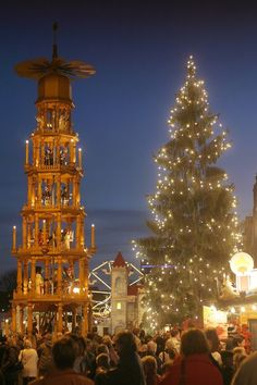Christmas Market in Dresden, Germany
