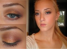 makeup magic: MY LOOK - Bronzed Goddess