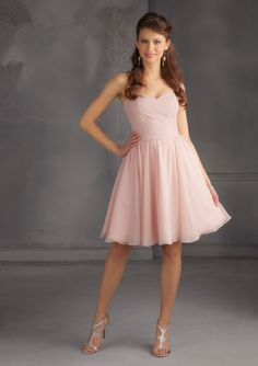 Short Chiffon Blush Pink Short Cheap Bridesmaid Dresses Under 50 Robe Demoiselle D'honneur Knee Length Peach Color Party Dresses-in Bridesmaid Dresses from Weddings & Events on Aliexpress.com | Alibaba Group