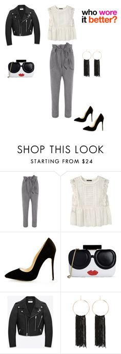 """""""Who wore..."""" by francy78 on Polyvore featuring moda, Vivienne Westwood Anglomania, Violeta by Mango, Alice + Olivia, Yves Saint Laurent, Bebe e Britney Spears"""