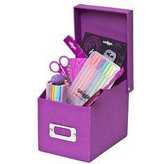 Purple Smiggle Stationery
