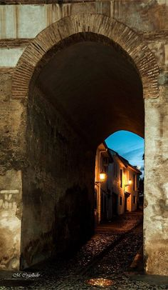 Arco de Fajalauza, Albayzin de Granada (España) Fotografía de Manuel Cogolludo