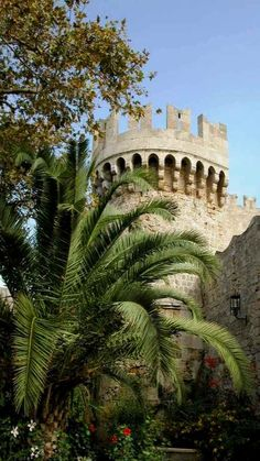 Castle of the Knights, Rhodes Island, Greece