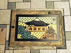 マンホール富士