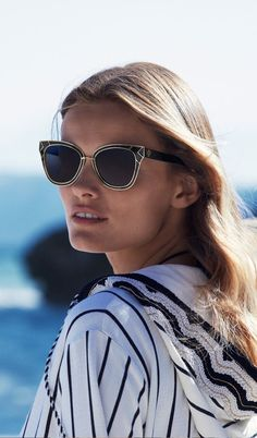 177f27cd2840 Edita Vilkeviciute Hits the Beach for Tory Burch Swimsuit Campaign