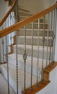 Best Vicenza Forged Iron Stair Parts Are Available In Flat 400 x 300