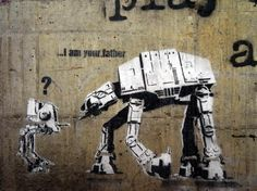 I am your father - Banksy
