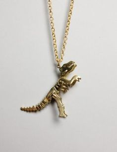 Raaaarr. I don't usually go for cutesy jewelery, but I am melting for this.