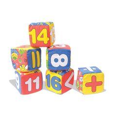 Juegos de cubos en espuma 6 cubos  Puntos: 620