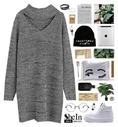 """""""SheIn 8"""" by novalikarida ❤ liked on Polyvore featuring Jayson Home, Calvin Klein, Paper & Tea, Casetify, Elwood, Maison Margiela, Alessi, Sheinside and shein"""