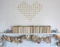 garland ideas... also, valentine's decor