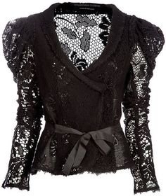 ShopStyle: BOLONGARO TREVOR Crochet jacket