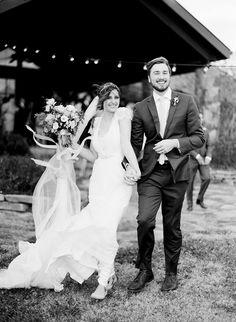 Pure wedding bliss.