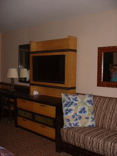 Disney's Contemporary Resort  all have 42 inch flat screen tvs