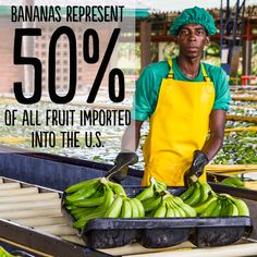 Click 'like' if you knew that #bananas are one of the most popular fruits in the world! Imagine the lives we could change if all bananas were #FairTrade Certified.
