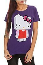 Hello Kitty Pixel 3D Girls Hot topic