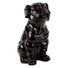 Urban Trends Ceramic Bulldog Sculpture - 46668