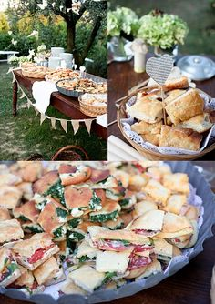 garden party snacks