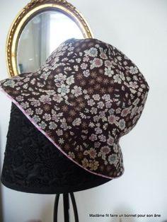 Tutoriel couture en photo pour un chapeau cloche