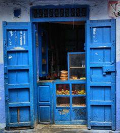 Cake Shop @ Chaouen, Morocco by toyaguerrero
