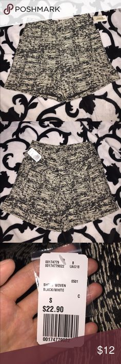 Black and white high waisted shorts new with tags Forever 21 vintage-style high waisted shorts new with tags. Forever 21 Shorts