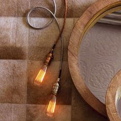 $113 Roost braided cord lamps