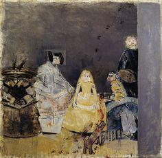 Louis CANE - Les Ménines . 1982 (230x230cm)